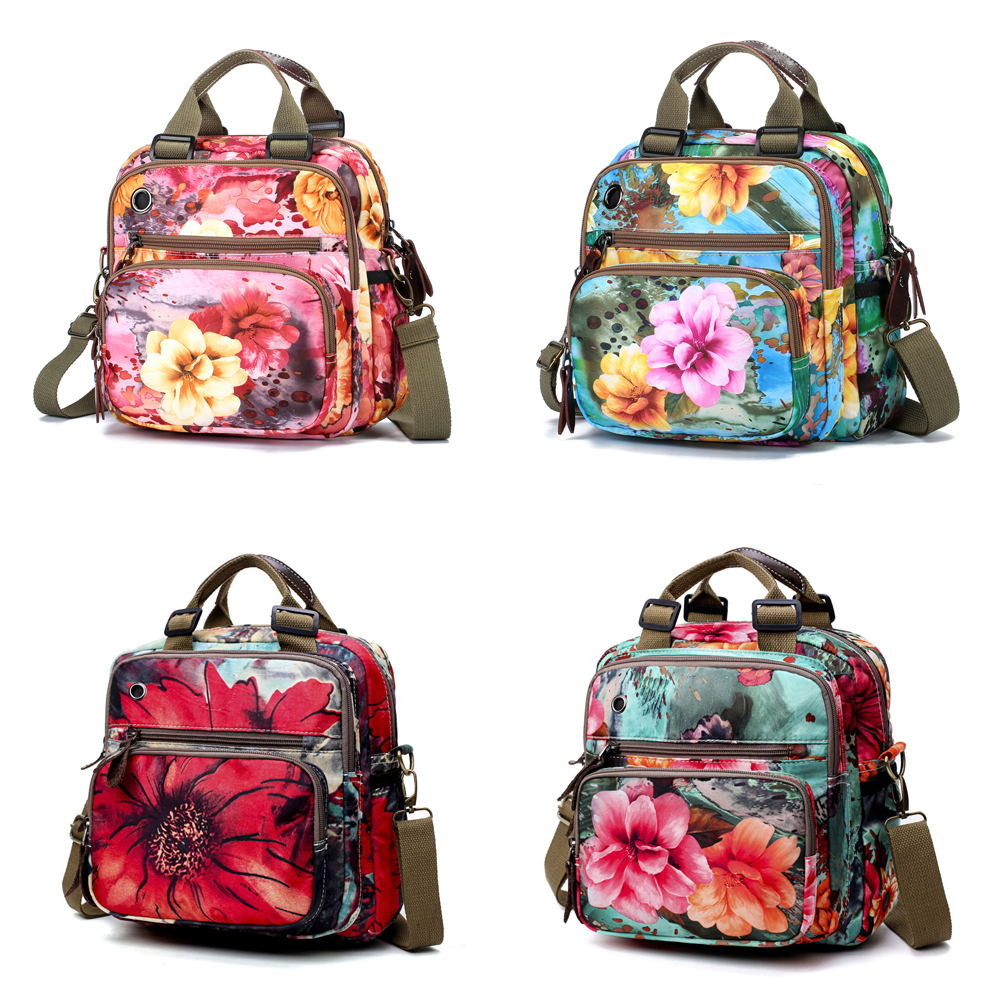 hotsale flower pattern crossbody bag