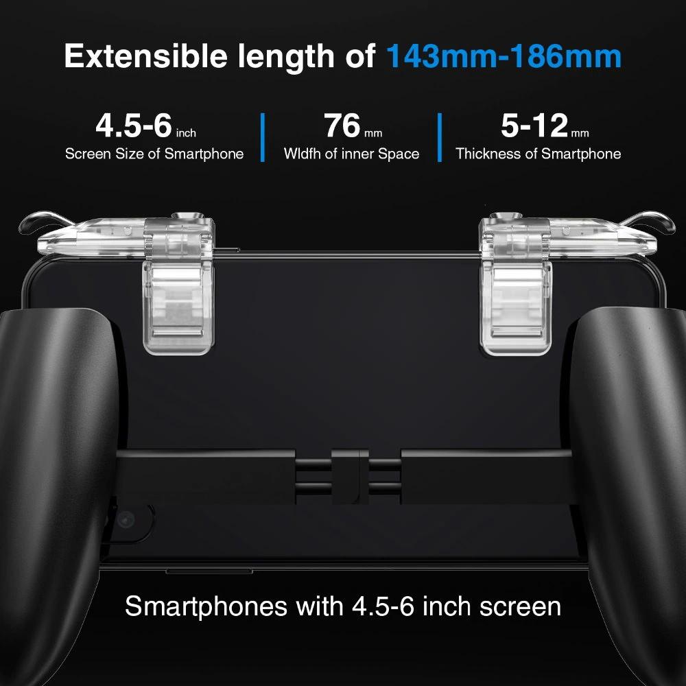 gamesir f2 foldable phone holder gamepad