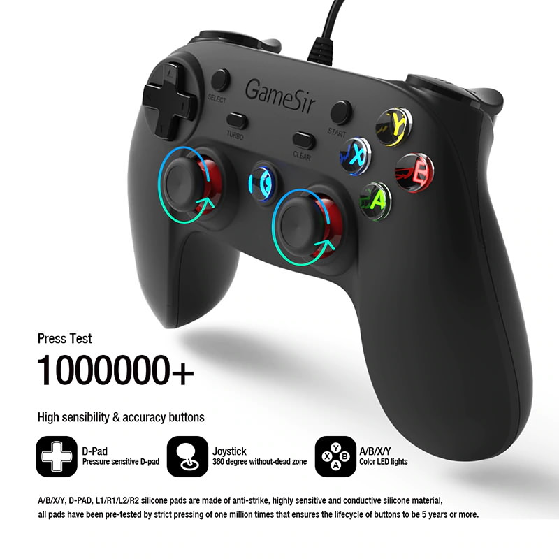 buy gamesir g3w wired game controller