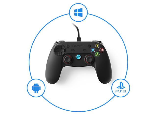 new gamesir g3w wired game controller 2019