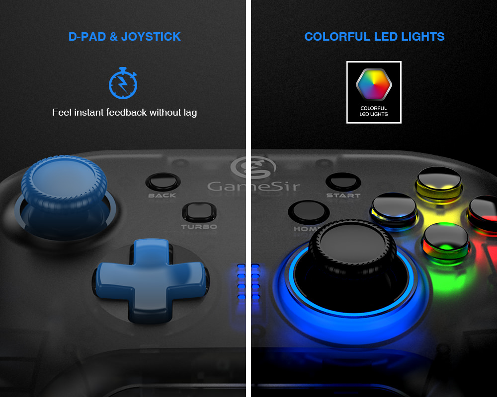 gamesir t4 wireless game controller for sale