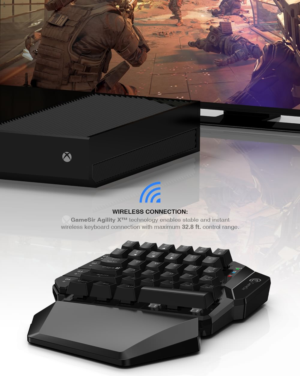 gamesir vx wireless converter