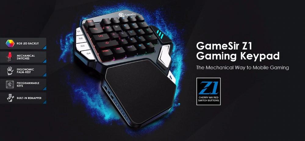 gamesir z1 gaming keypad