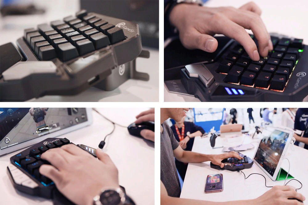 gamesir z1 single hand gaming keypad 2019