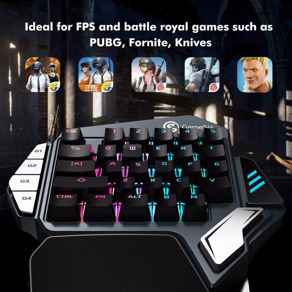 gamesir z1 single hand gaming keypad review