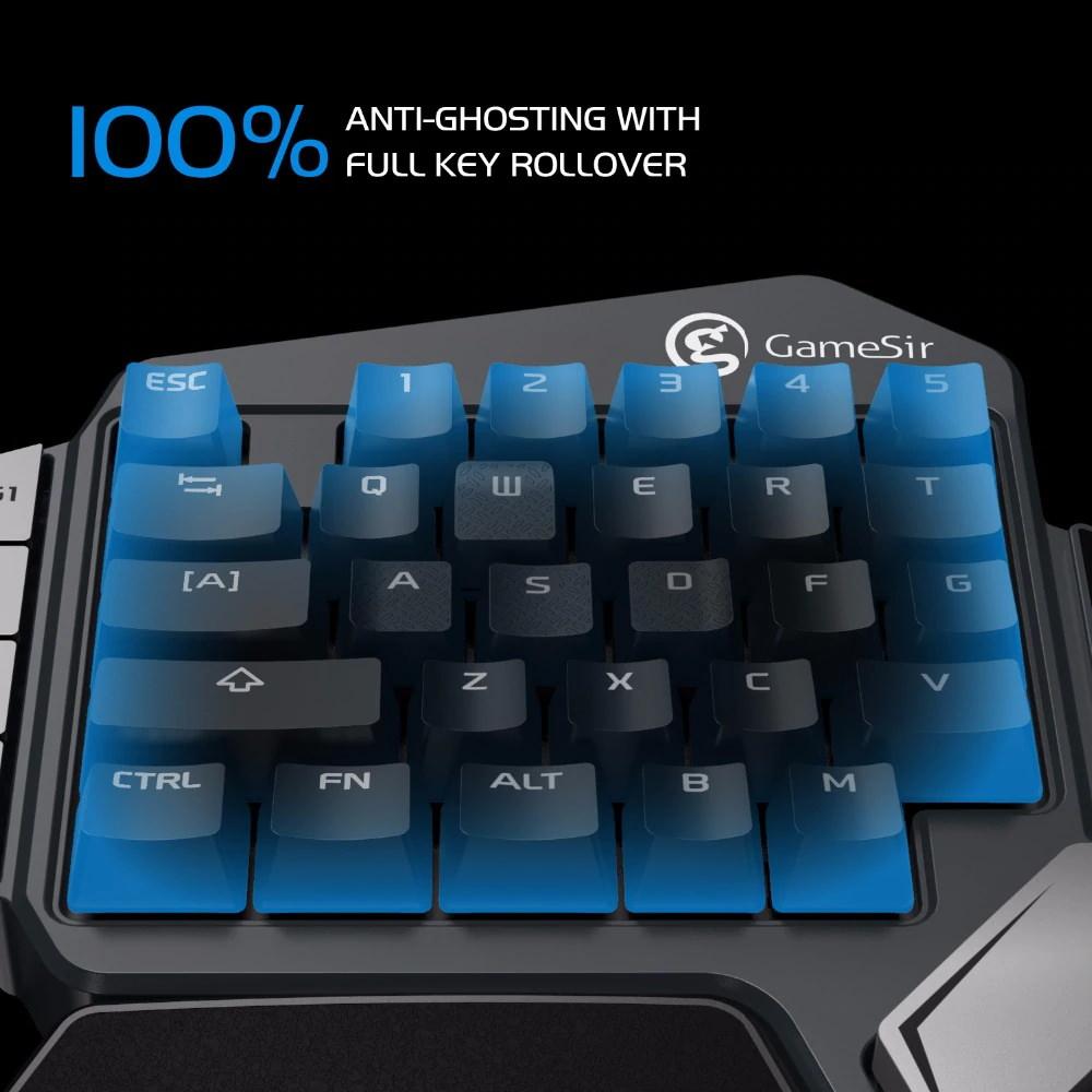 price gamesir z1 single hand gaming keypad 2019