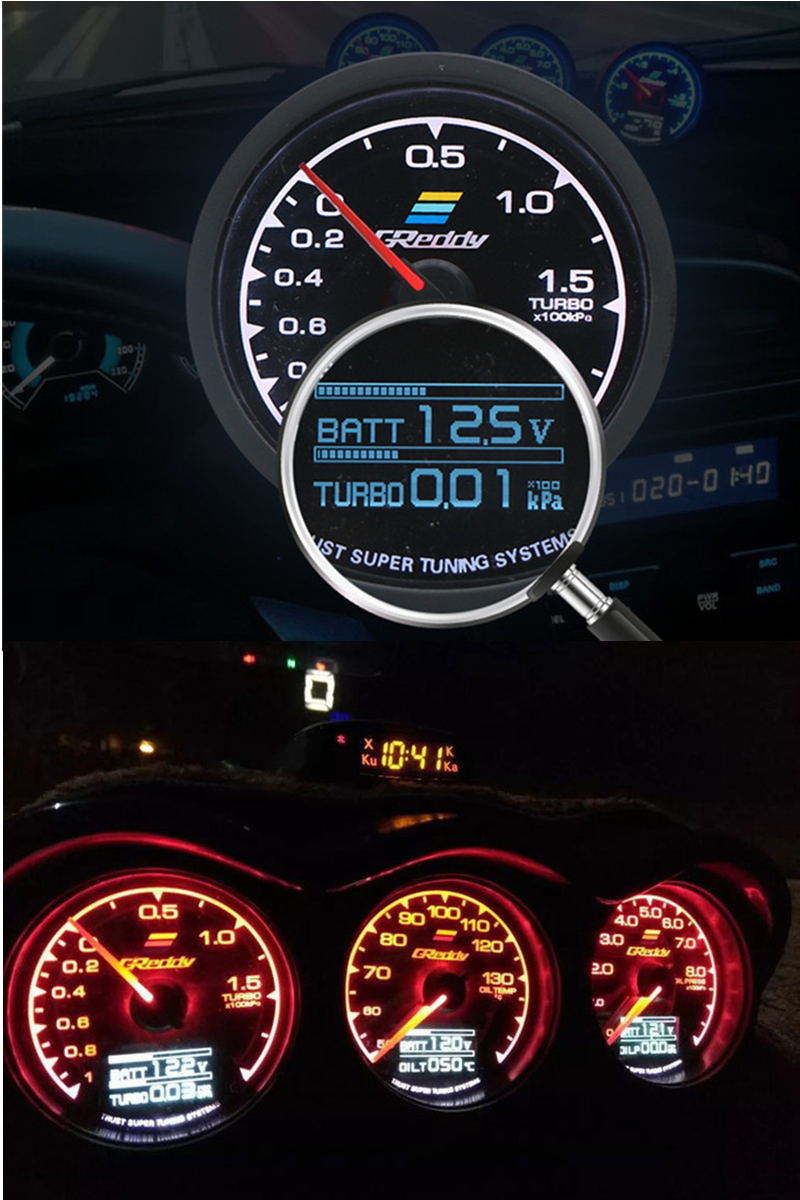 hotsale greddy 60mm water temperature gauge