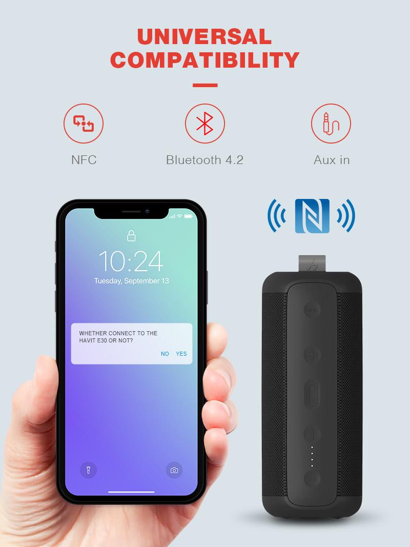 2019 havit e30 wireless bluetooth speaker