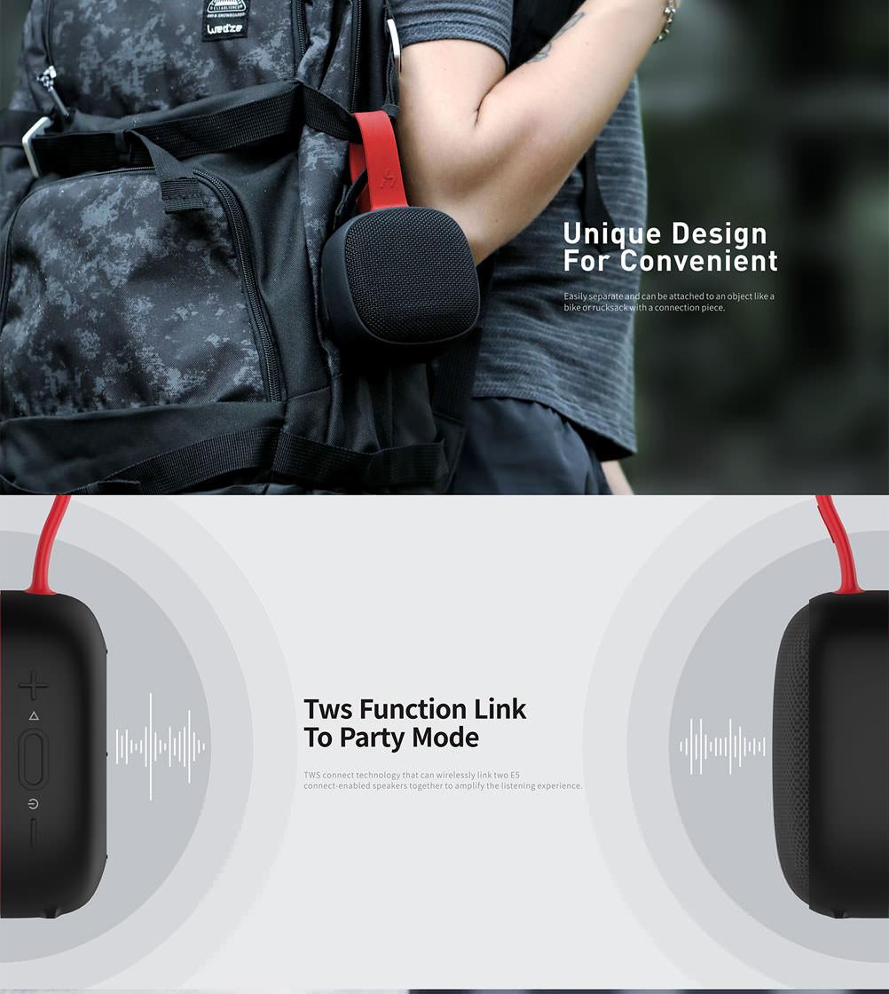 new havit e5 wireless bluetooth speaker