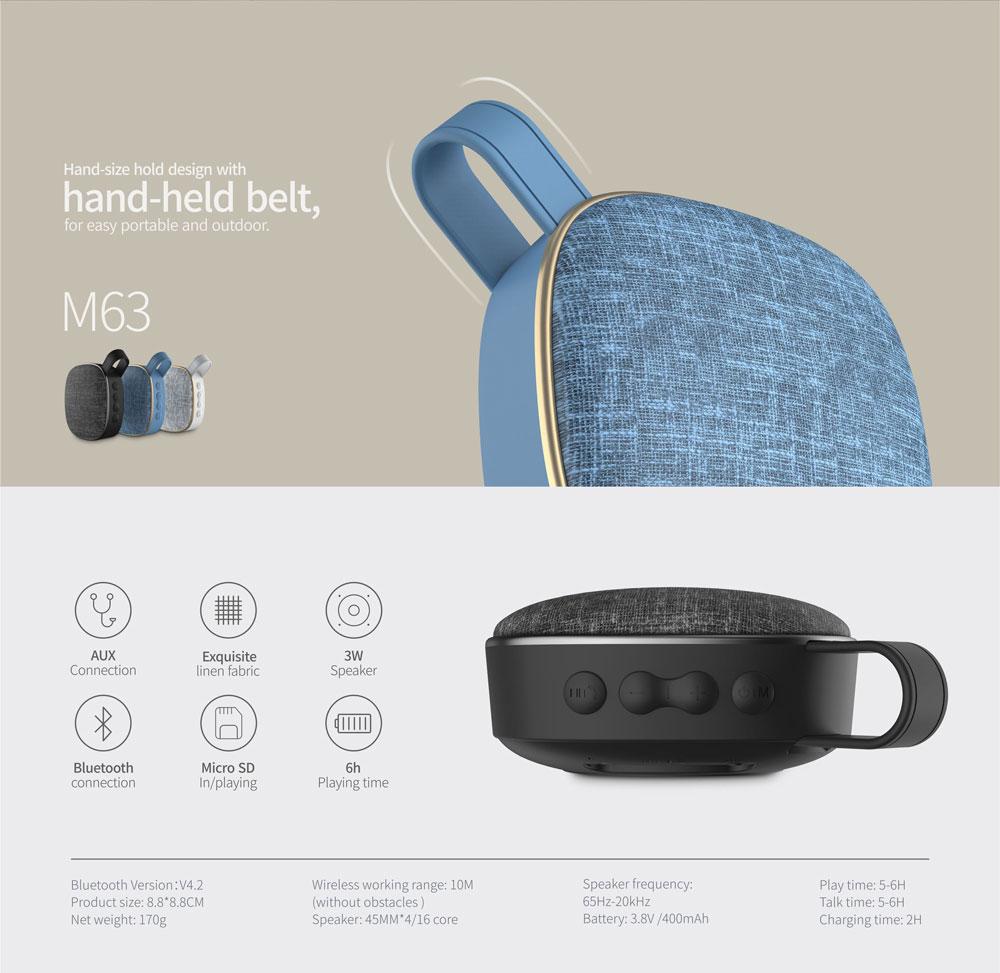 havit m63 bluetooth outdoor speaker