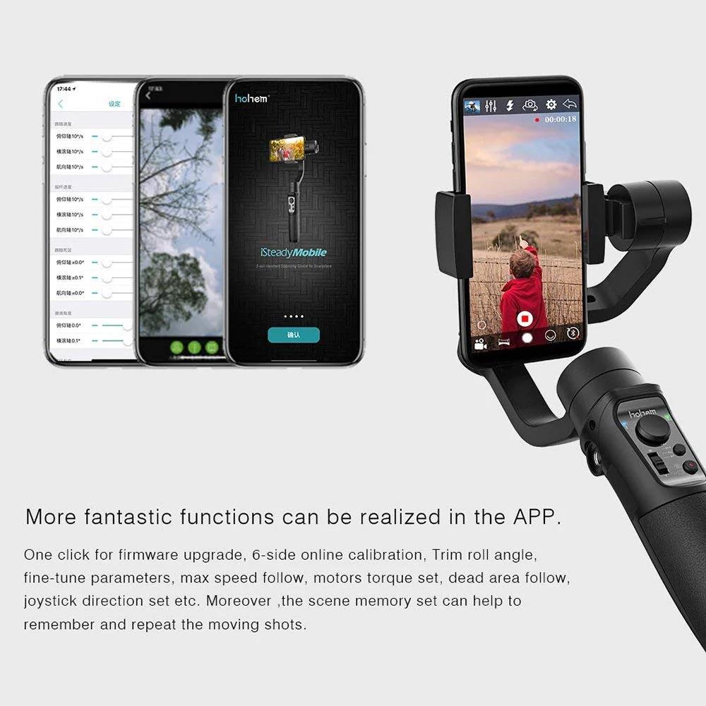 2019 hohem isteady mobile handheld gimbal stabilizer