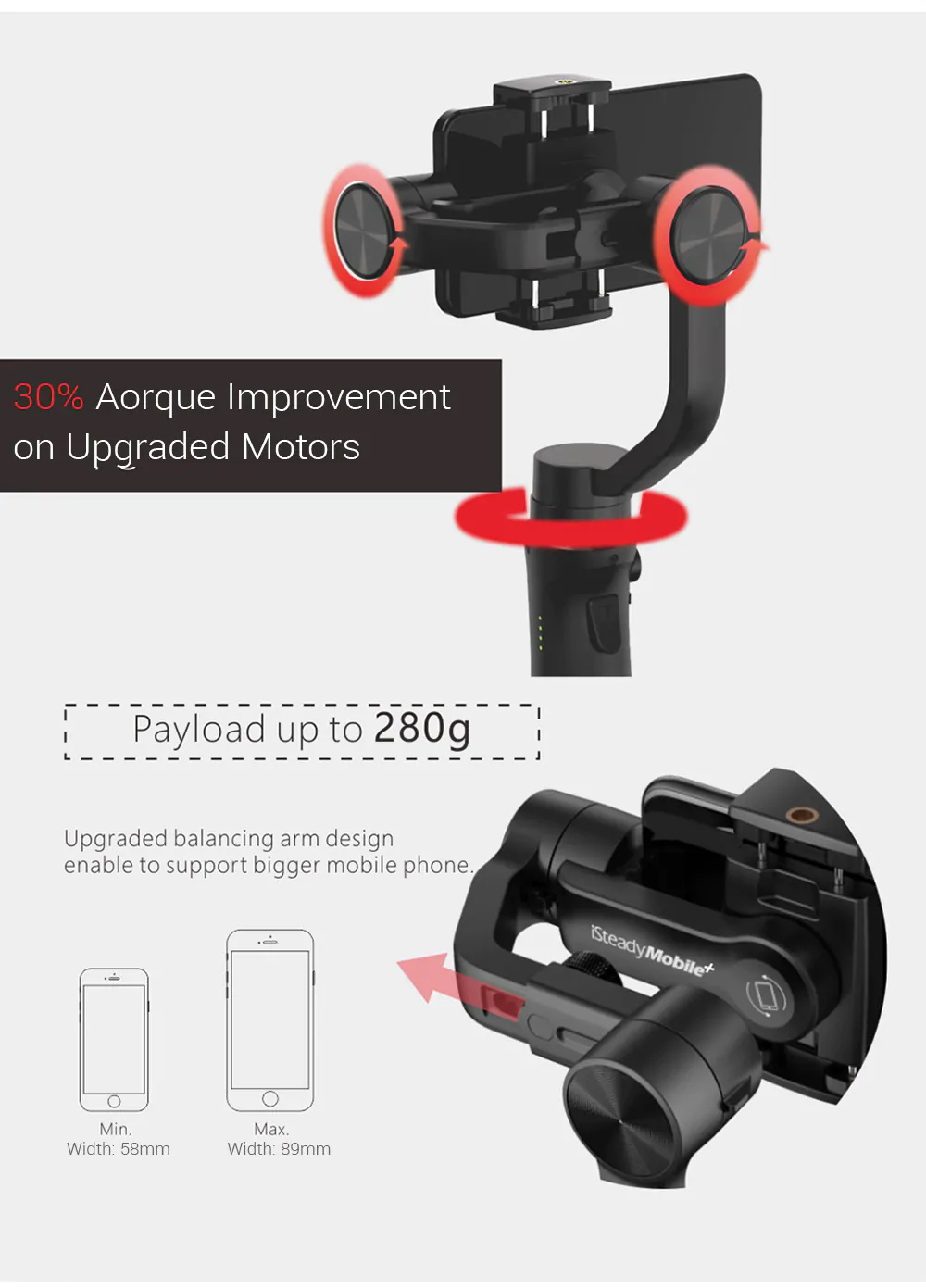 new hohem isteady mobile plus handheld gimbal stabilizer