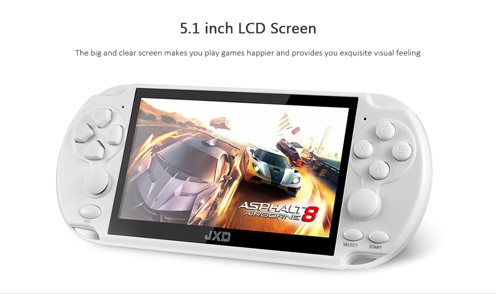 jxd retro handheld game console