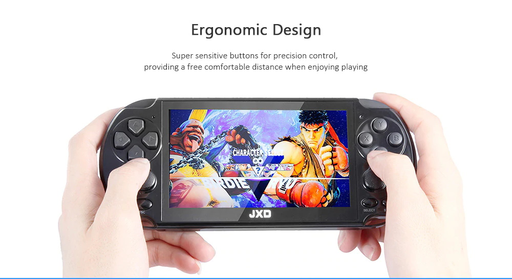 new jxd retro handheld game console
