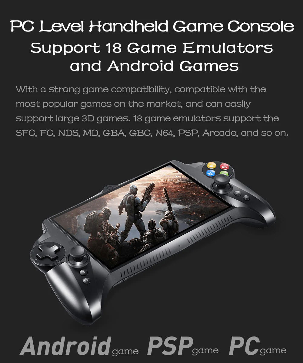 jxd s192k game phablet gamepad for sale