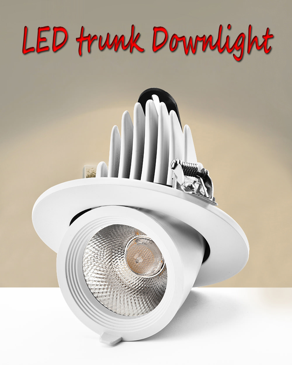 new jw-x02 led trunk downlight
