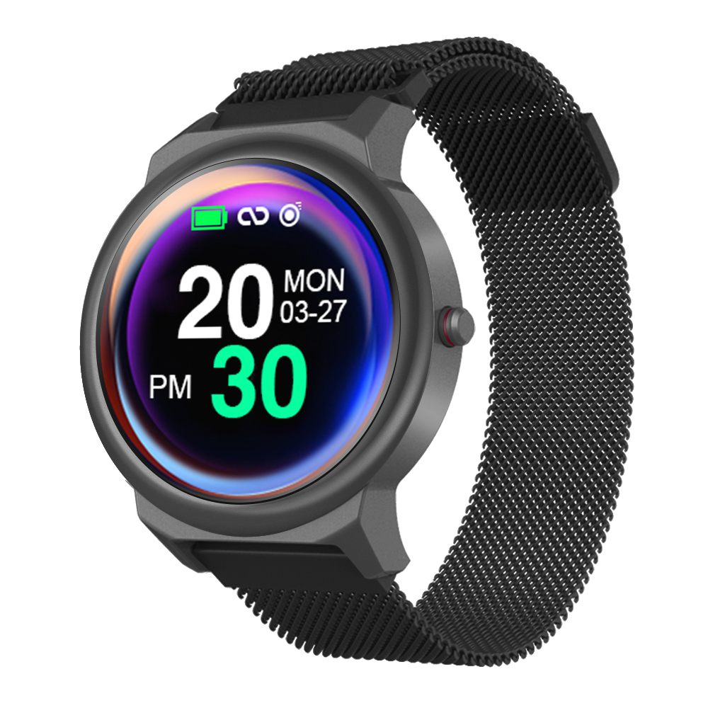 lemfo elf1 1.3 inch smartwatch review