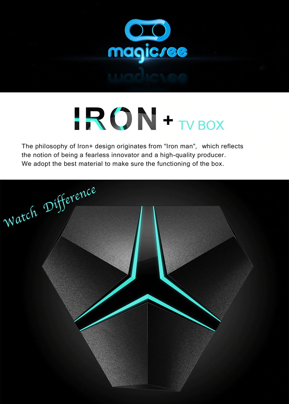[Image: MAGICSEE-Iron-Plus-TV-Box-1.JPG]