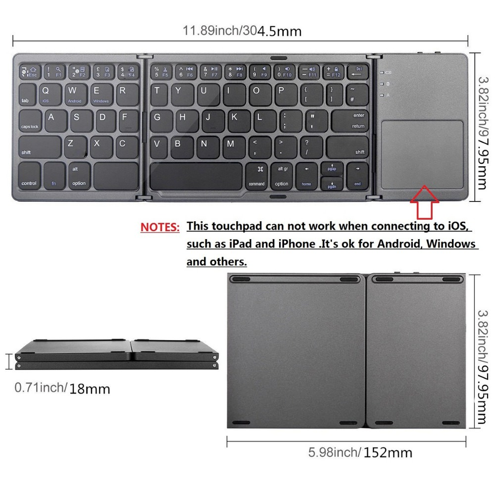 buy mini foldable touch keyboard