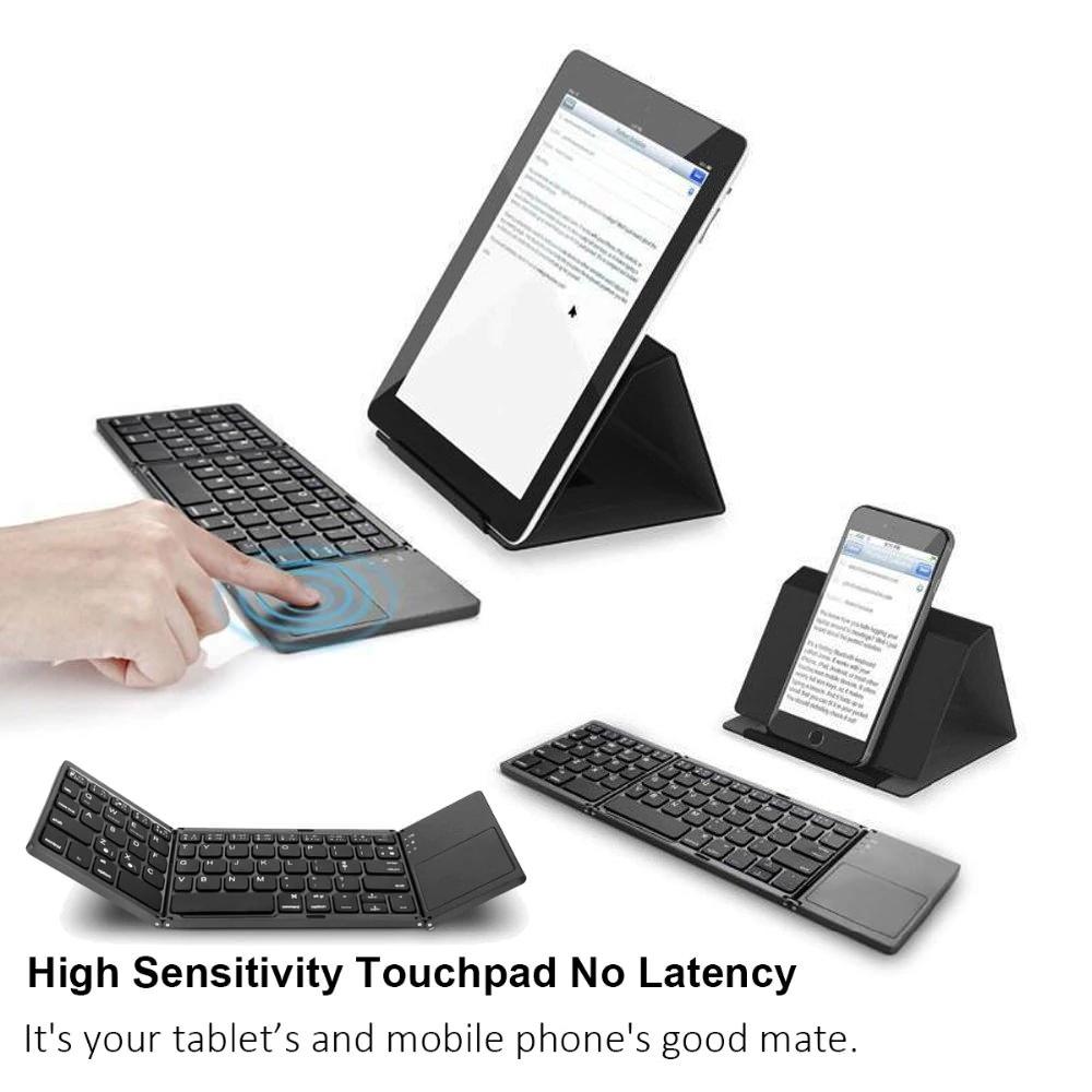 2019 mini foldable touch keyboard