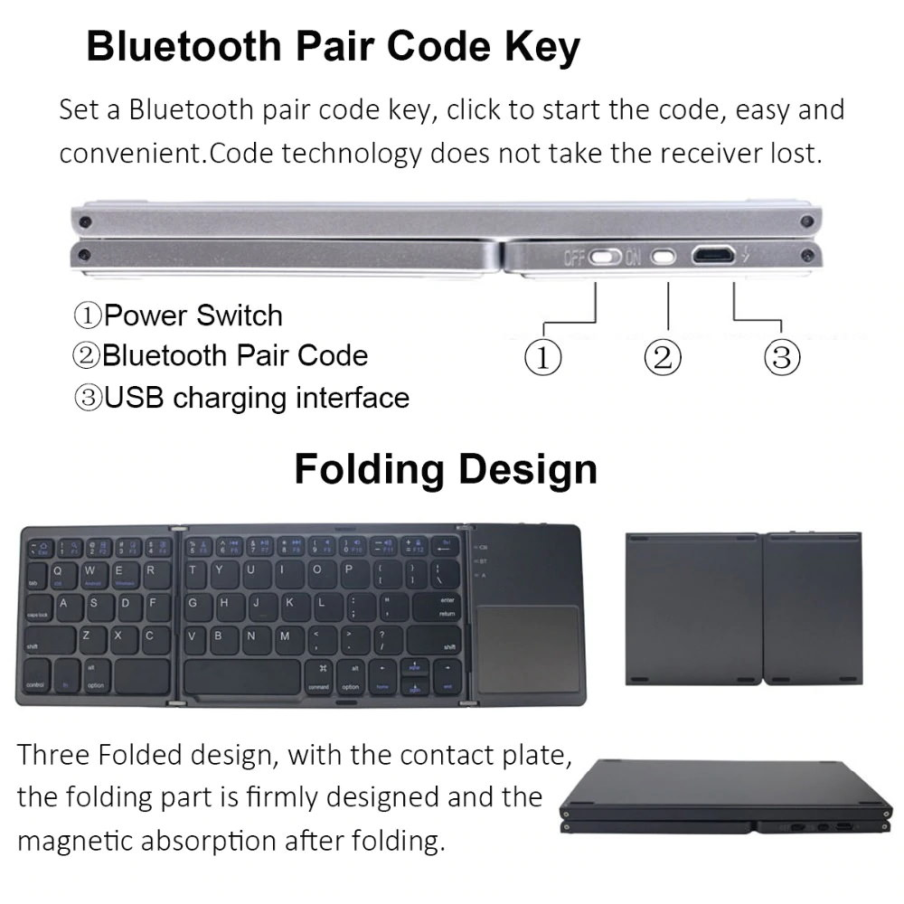 mini foldable touch keyboard for sale
