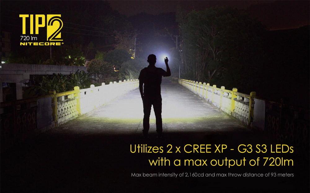 buy nitecore tip2 720lm keychain flashlight