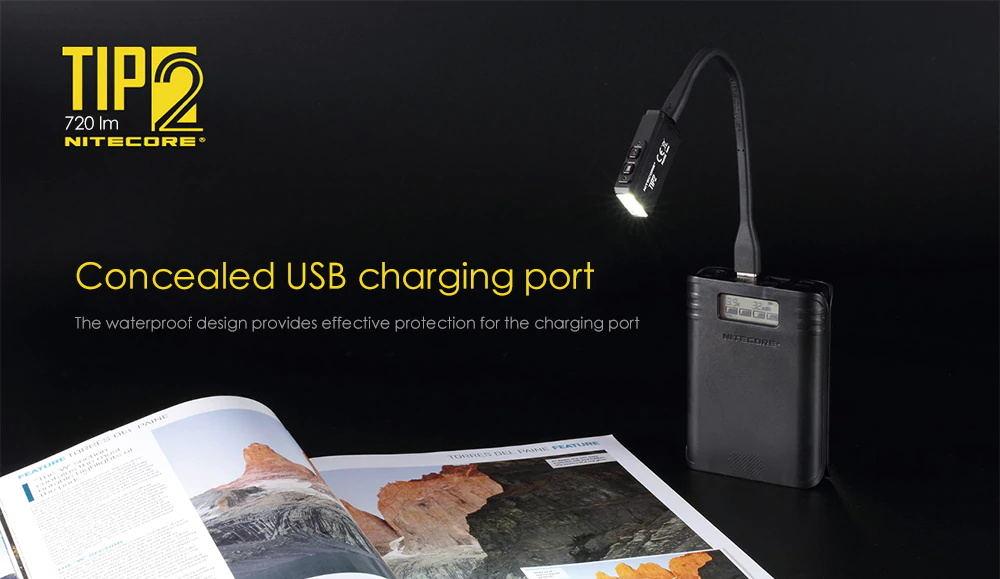 new nitecore tip2 720lm keychain flashlight
