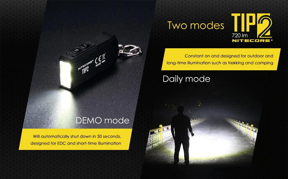 nitecore tip2 720lm keychain flashlight online