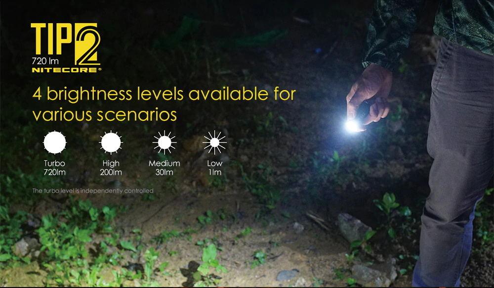 nitecore tip2 flashlight