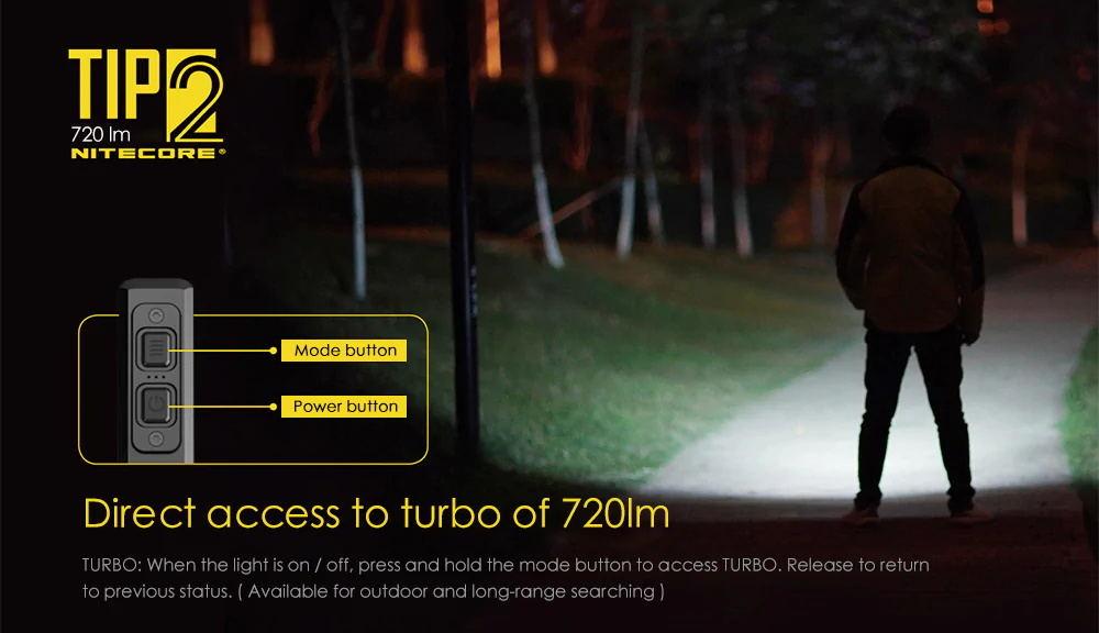 buy nitecore tip2 flashlight