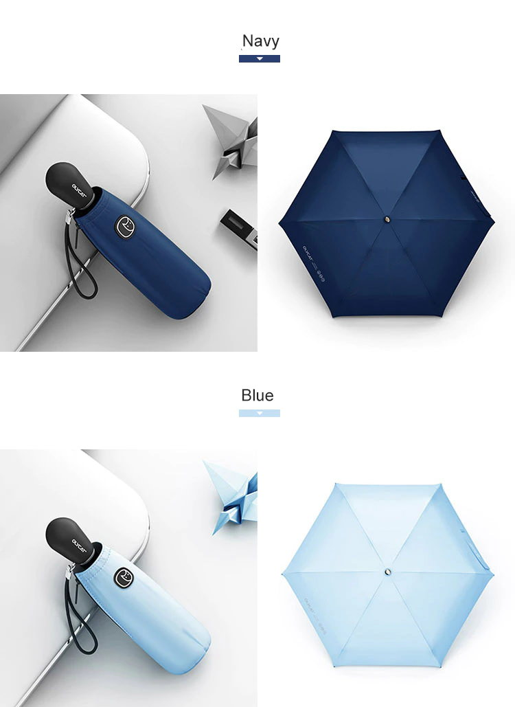 olycat colorful anti uv mini umbrella