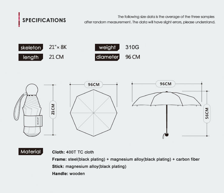 new olycat oc501-q mini umbrella