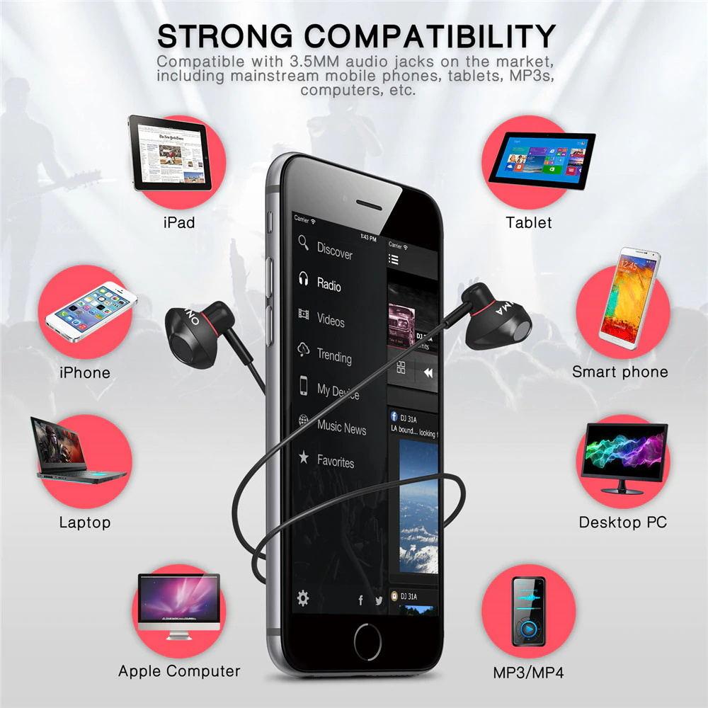 onikuma a19 earphones online