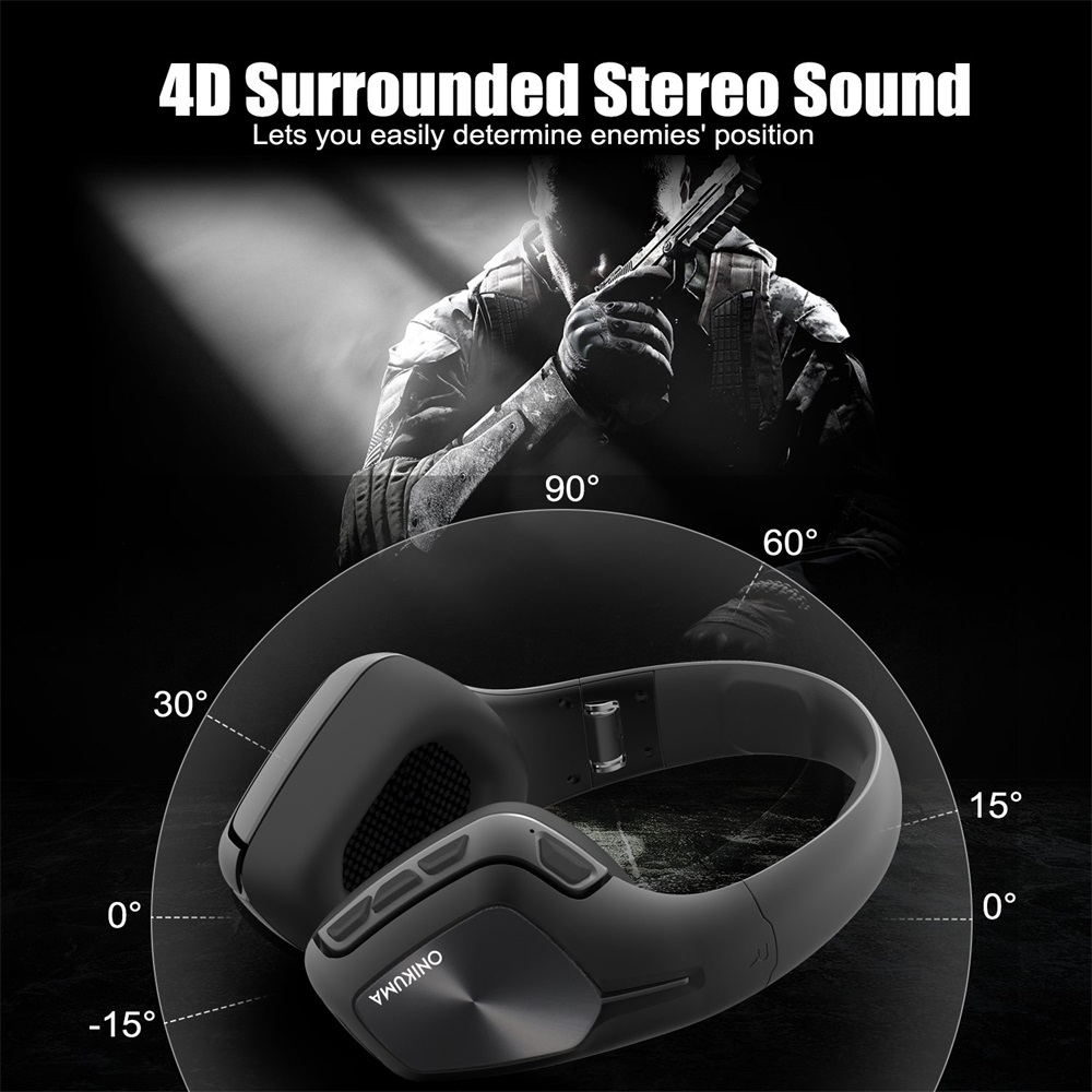 onikuma b1 bluetooth headphones for sale