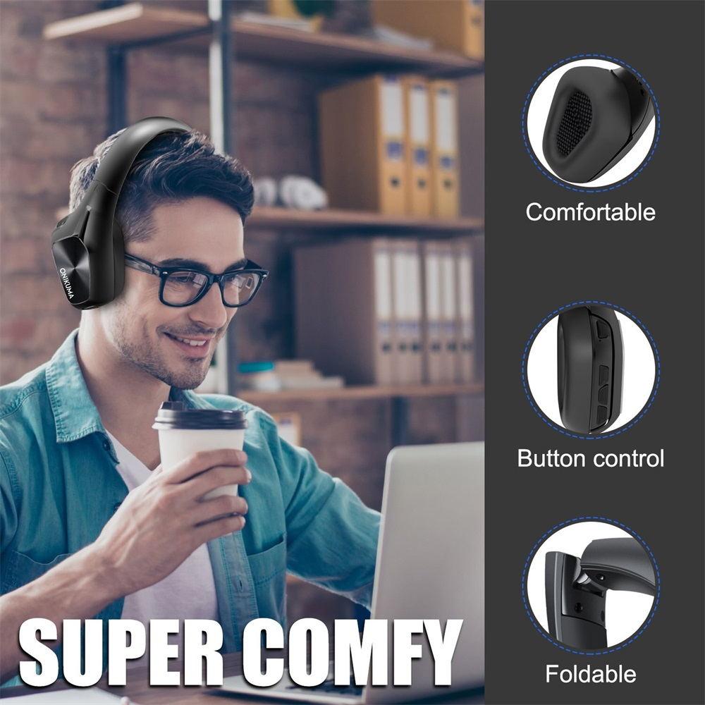 2019 onikuma b1 bluetooth headphones