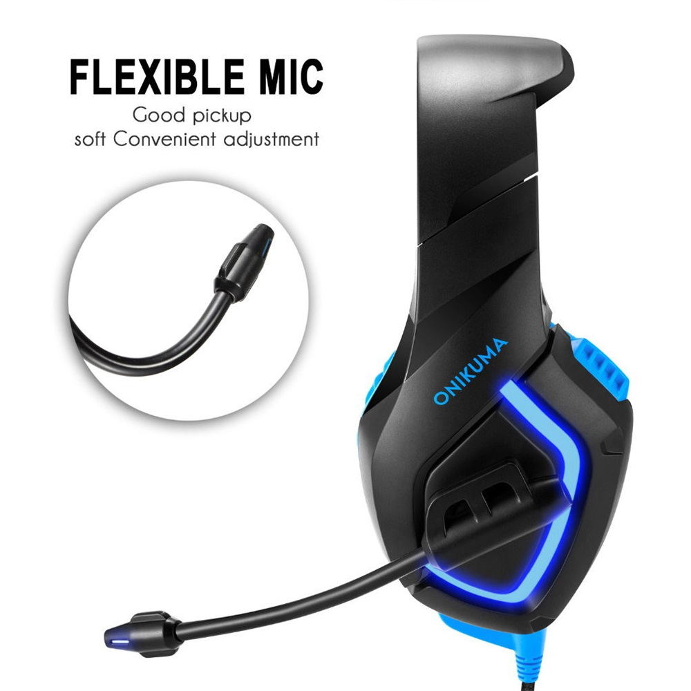 2019 onikuma k1-b gaming headsets