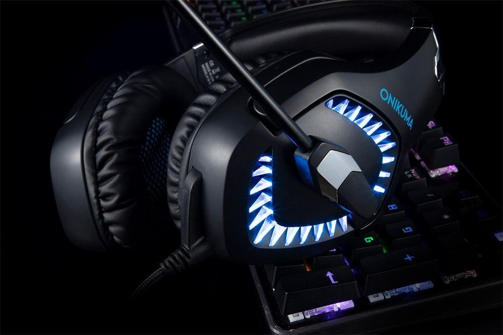 onikuma k1 pro wired gaming headphone