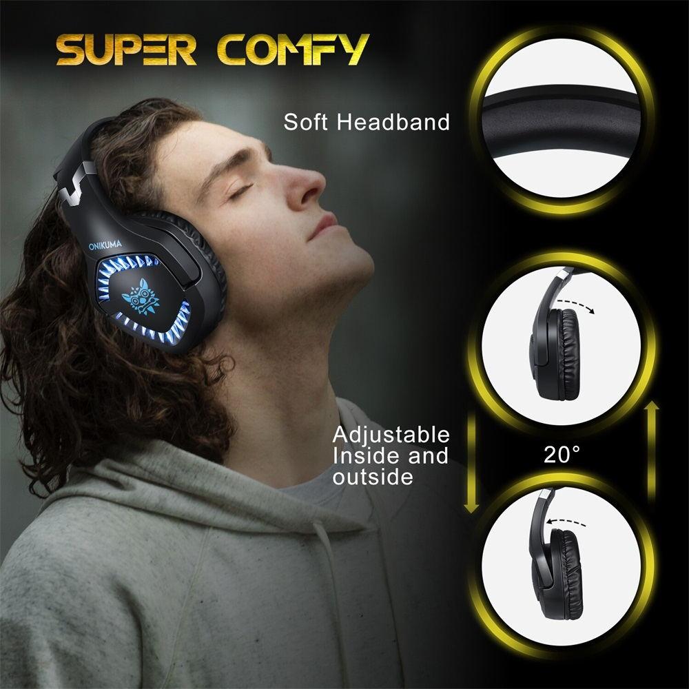 best onikuma k1 pro gaming headphone