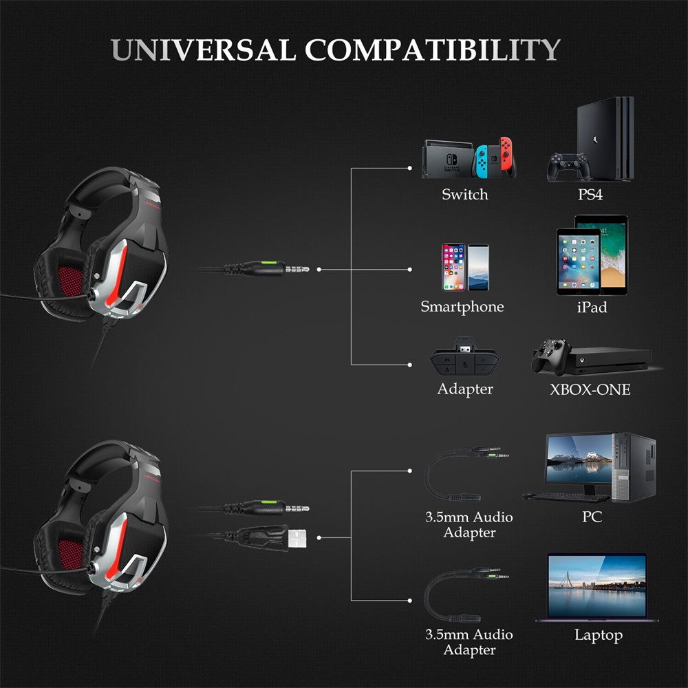 new onikuma k12 gaming headset