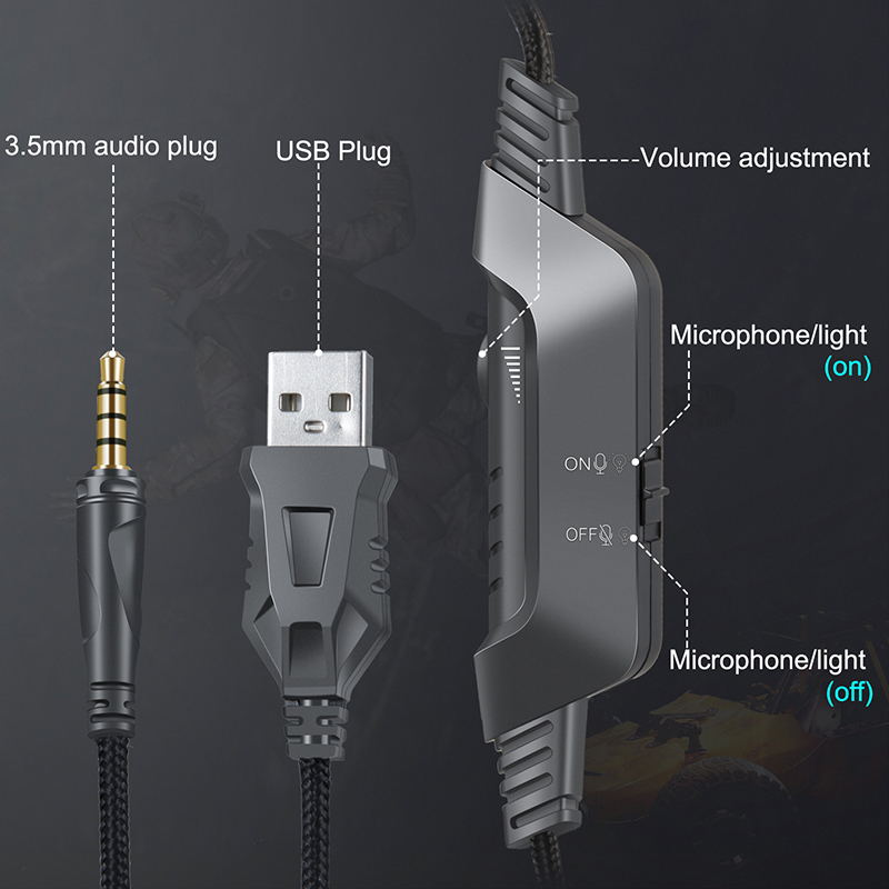 onikuma k6 stereo gaming headset 2019