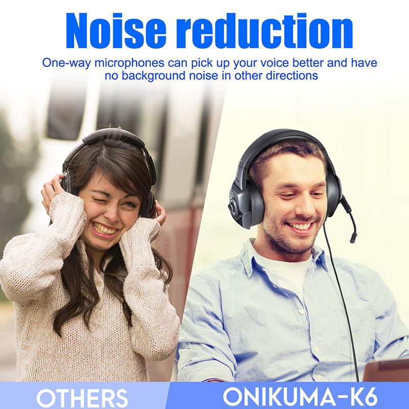 onikuma k6 gaming headset 2019