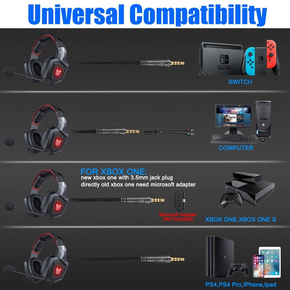 buy onikuma k8 stereo gaming headset