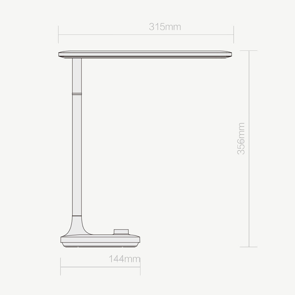 buy opple led table lamp from xiaomi youpin