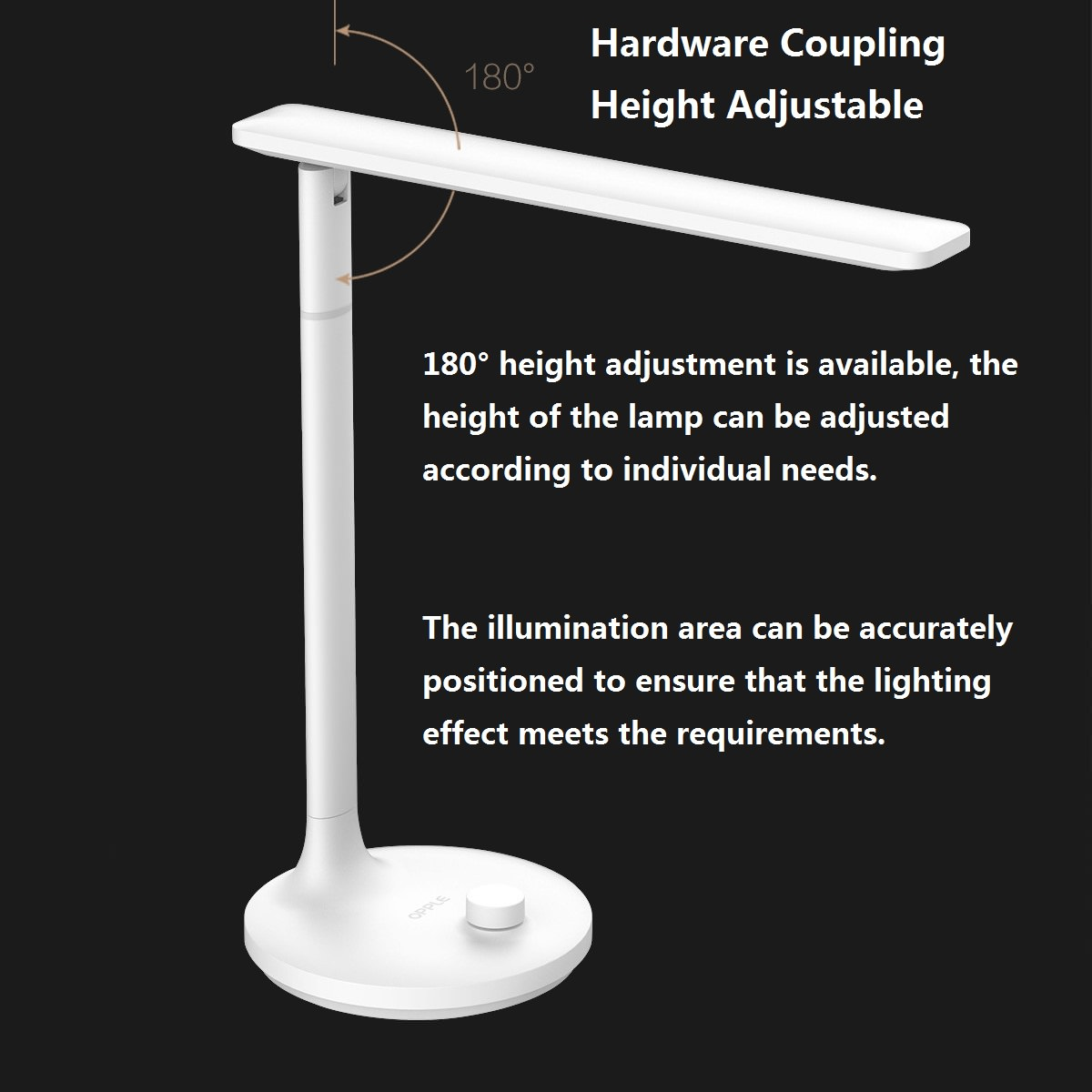 opple led table desk lamp from xiaomi youpin for sale