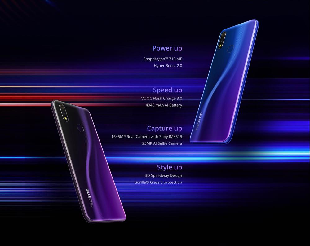buy oppo realme 3 pro 4g smartphone