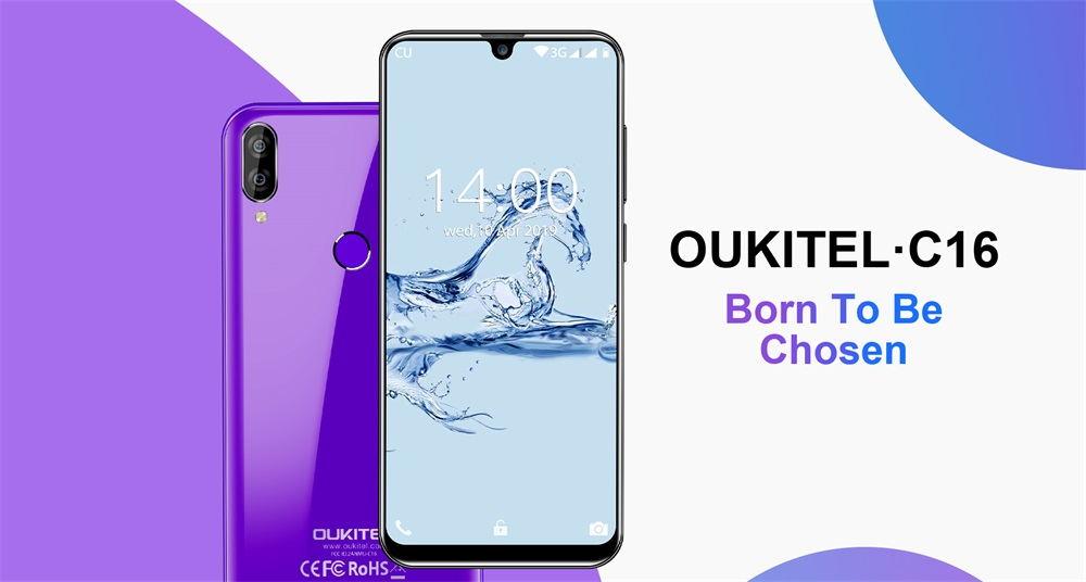 oukitel c16 3g smartphone