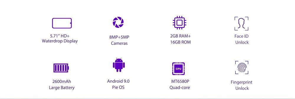 buy oukitel c16 3g smartphone