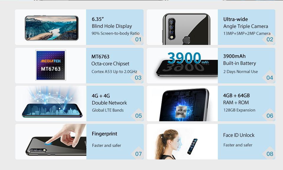 buy oukitel c17 pro 4g smartphone