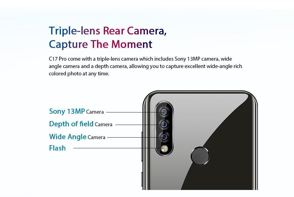 new oukitel c17 pro 4g smartphone
