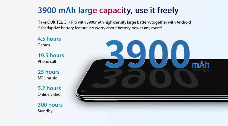 oukitel c17 pro 4g smartphone online